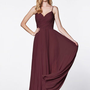 Spaghetti Straps Long Prom Dress CD7471